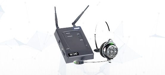 Base station and headset that we deliver