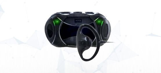 Another type of headset that can be used with our communication solution